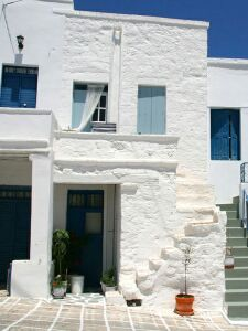 the house in the castle, kimolos, cyclades